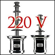 220V Chocolate Fountains