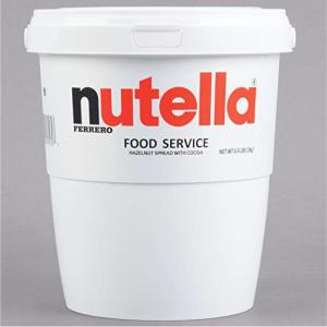 Nutella 6.6 lbs Tub Nutella Spread  Hazelnut Spread